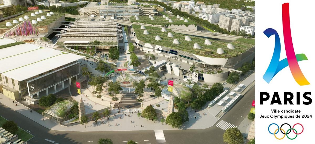 JO2024 Parc des expositions Porte de Versailles - handball - tennis de table - Viparis