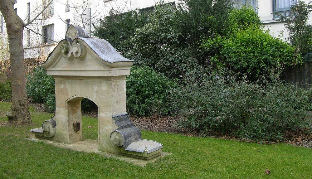 Jardin Croix-Nivert-Convention Marie Poussepin Paris 15