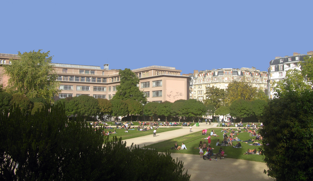 Square Saint Lambert Paris 15