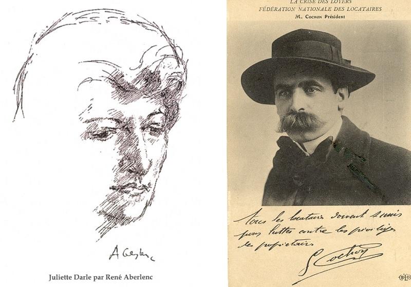 Juliette Darle et Georges Cochon