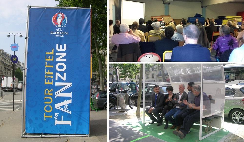 Fan Zone Champ de Mars - UEFA EURO 2016 - Philippe Goujon - Jean -François Martins