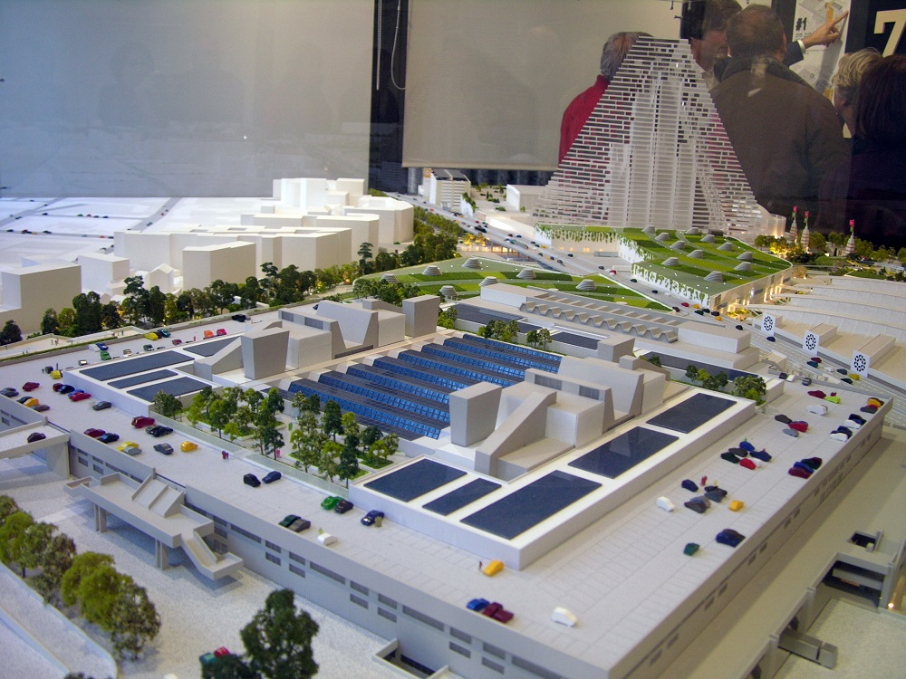 Parc des expositions visite de chantier valgirardin fr - Parc des expositions porte de versailles plan ...
