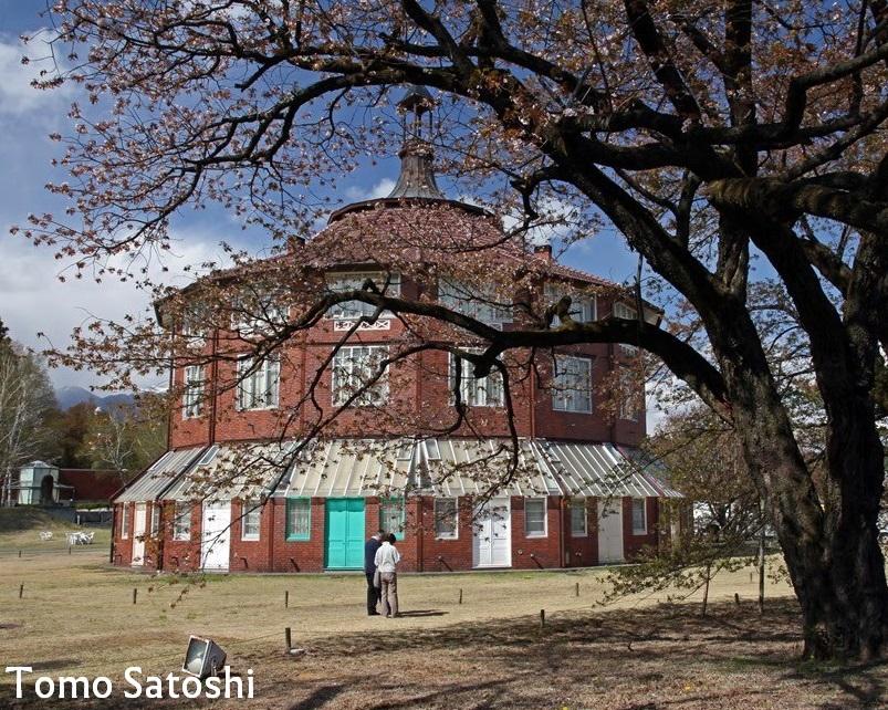 Réplique de la rotonde de La Ruche à Kiyoharu au Japon