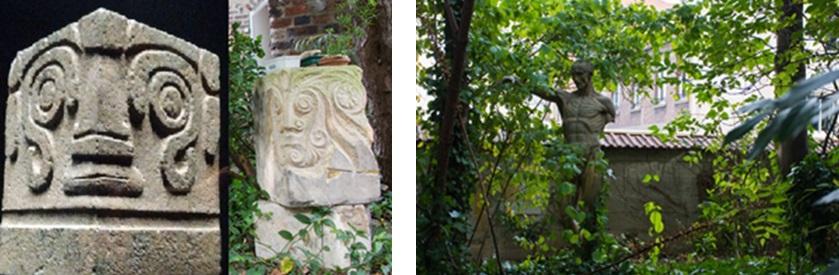 Têtes précolombiennes / Sculpture