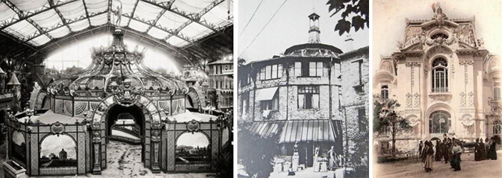 Pavillon des vins de Bordeaux / Rotonde de la Ruche (1911) / Palais de la Femme