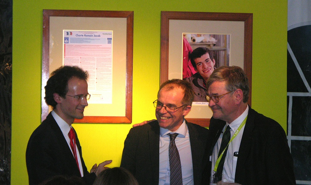 Village Saint-Michel - FAM Romain Jacob - Fondation OVE - Inauguration - Charte - Pascal Jacob - Marc Bourquin - Paris 15