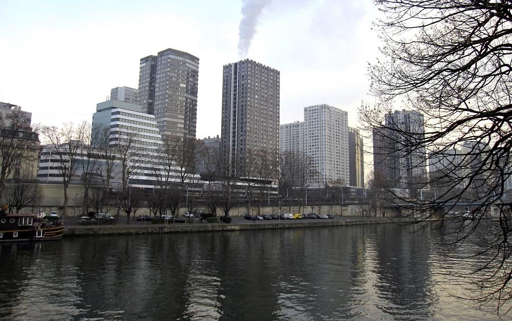 Baignade Seine - Ile aux Cygnes - Paris 15