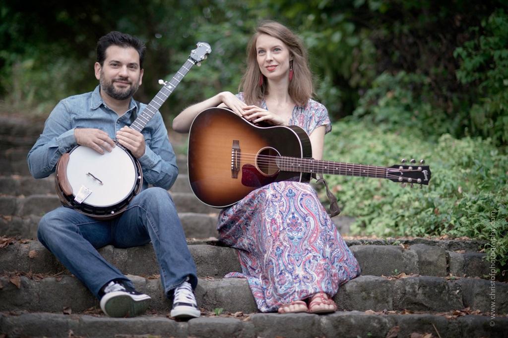 Duo Harlan - Bluegrass - Concert - Paris 15