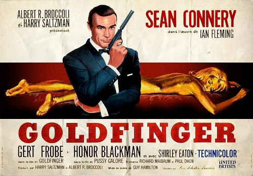 Goldfinger affiche