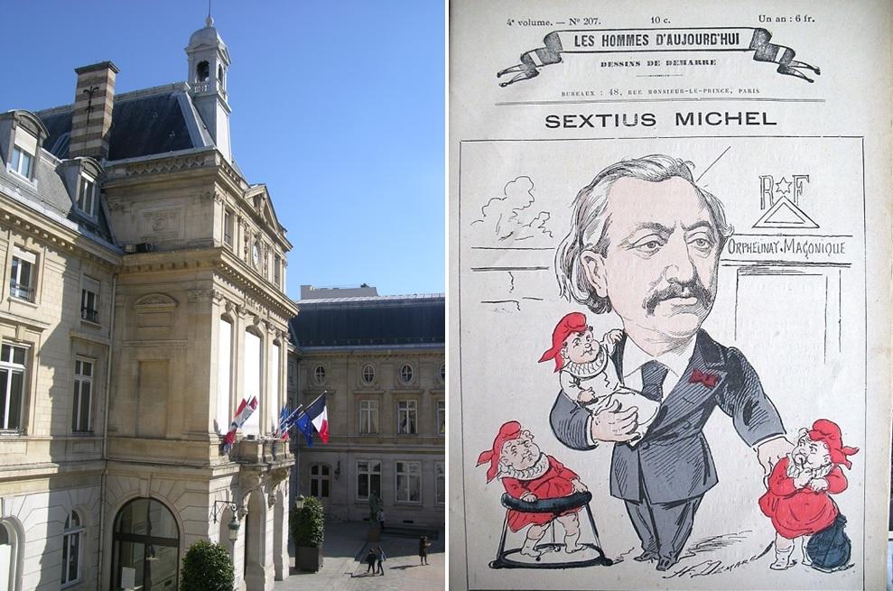 Sextius-Michel - Maire Paris 15