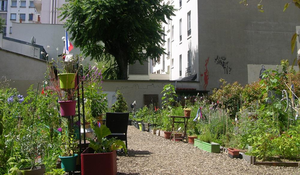 jardin partagé félicité - paris 15