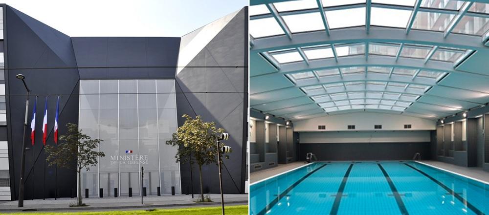 piscine Balard - ministère défense - paris 15
