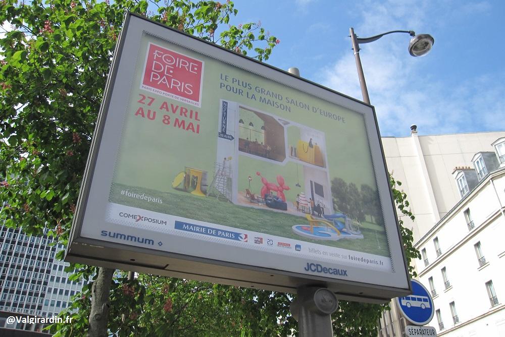Panneau Publicitaire JCDecaux - Paris 15