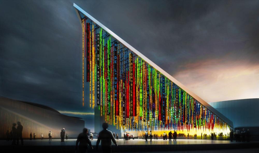 Pavillon 6 - Parc Expo Porte Versailles - Jean Nouvel - Viparis - Autre Image - Paris 15