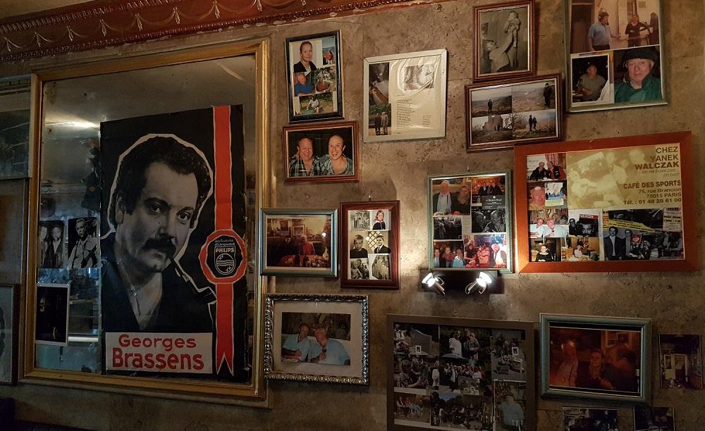 Chez Walczak - Mur restaurant - Paris 15