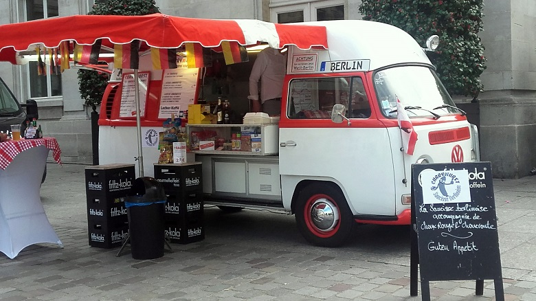 Foodtruck fête de l'europe - paris 15