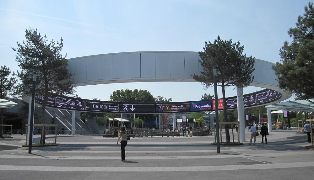 Parc Expositions Versailles - anneau digital - paris 15