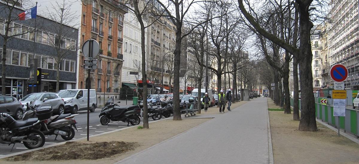 boulevard de vaugirard - paris 15ème arrondissement