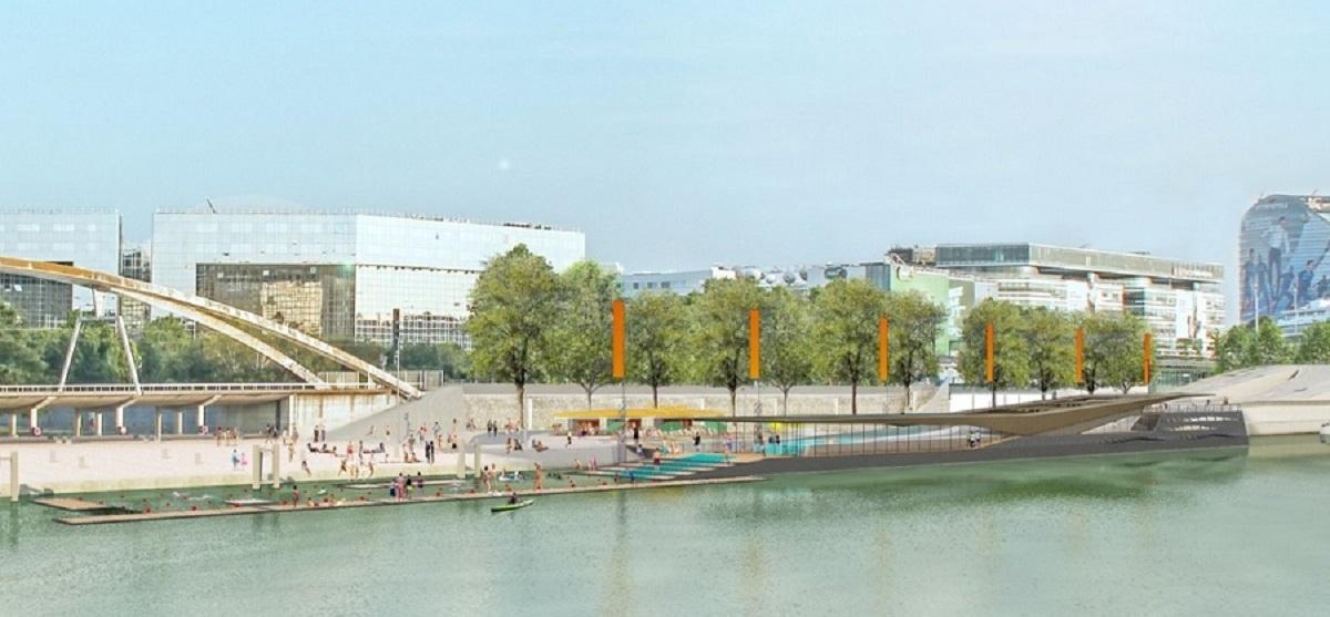 Un complexe sportif aquatique pour le port de javel bas for Piscine 15eme