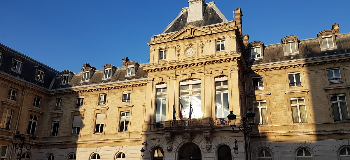 Mairie Paris 15