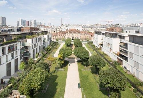 Ecoquartier Boucicaut - Paris 15 (c) Hugo Hebrard - SemPariSeine