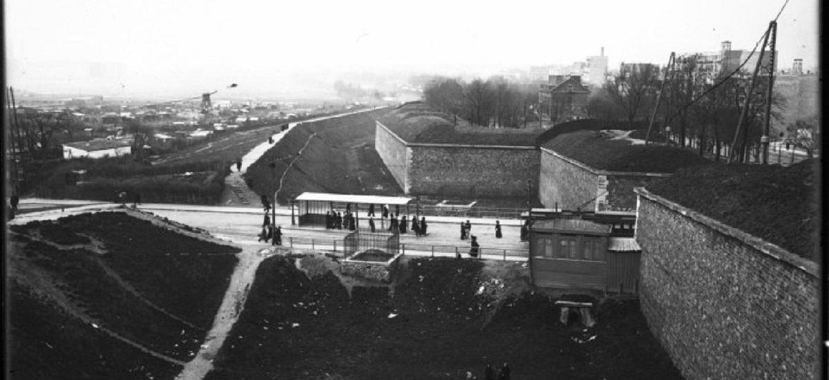 Enceinte de Thiers - Fortification Porte de Versailles - Paris 15