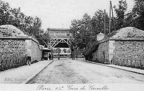 Enceinte de Thiers - Gare de Grenelle de la petite ceinture - Paris 15