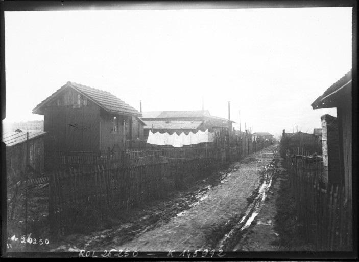 Enceinte de Thiers - zone d'Ivry 1913