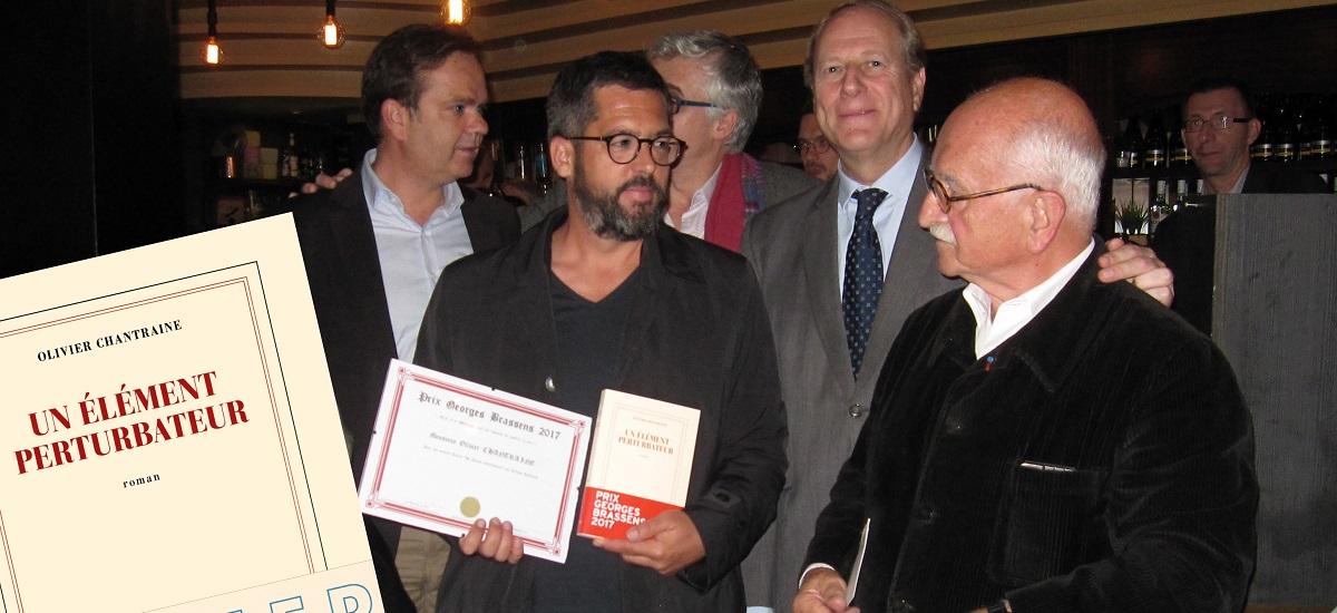 Prix littéraire Georges Brassens - Olivier Chantraine - Paris 15