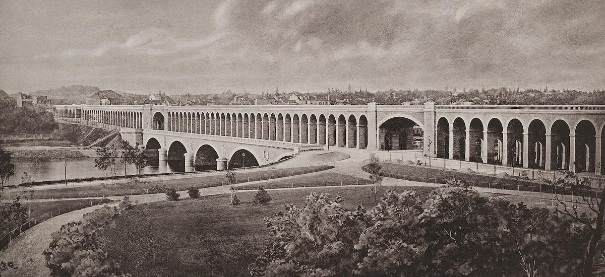 Le viaduc d'Auteuil ou Point-du-Jour