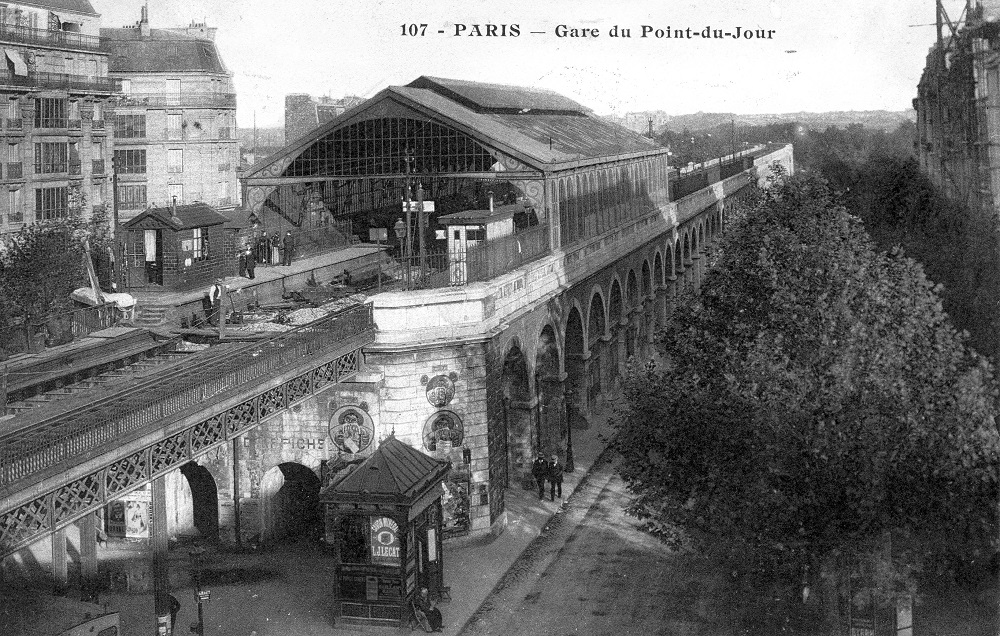 gare point du jour - paris
