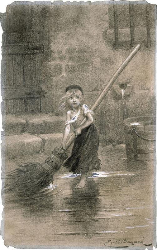 Cosette - Emile Bayard 1862