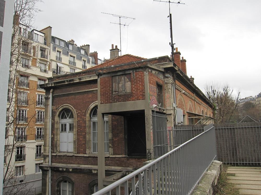 Gare de Vaugirard - Petite Ceinture - Paris 15