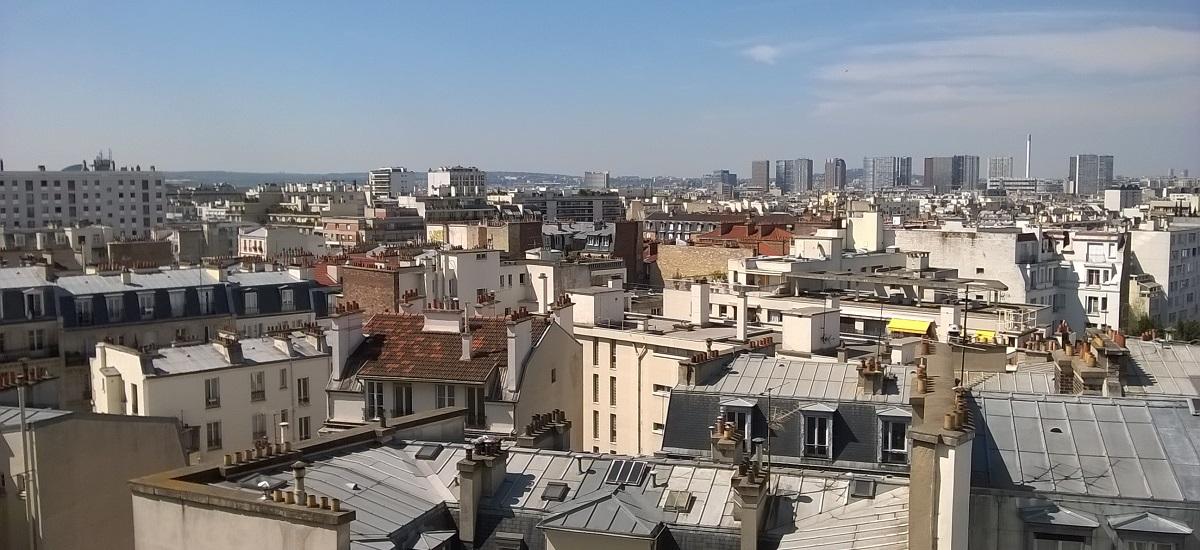 Toits immeubles parisiens - Paris 15 eme arrondissement