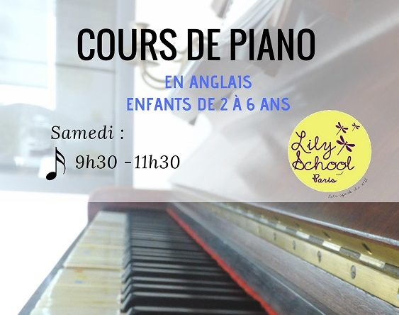 Lily school - cours piano - violon - violoncelle - paris 15