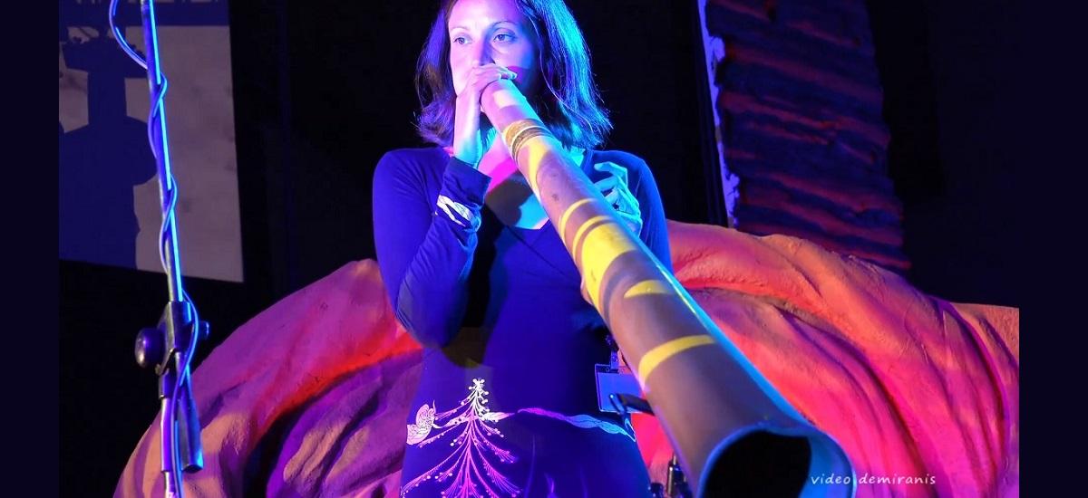 Adele Blanchin - didgeridoo - concert - paris 15eme arrondissement 75015 (c) festival Didjin'Oz 2017