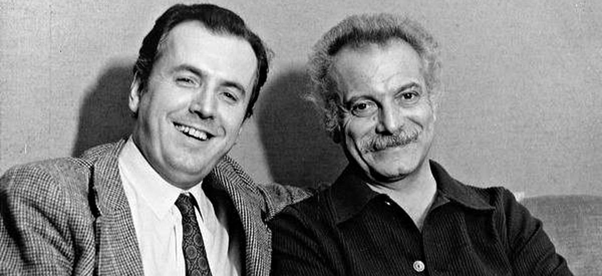 Mario Poletti - Georges Brassens - photo Fred Mella (c) Forum Les Amis de Georges Brassens