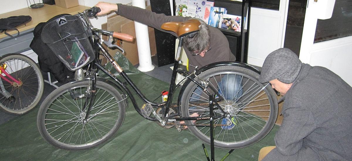 Mon vélo en Seine - atelier autoréparation - paris 15ème arrondissement - 75015