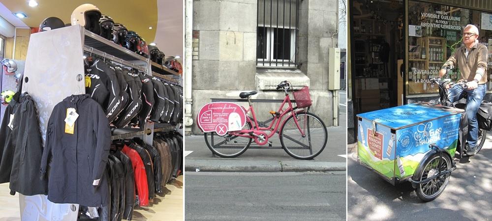 equipement - velo - triporteur - commerce - paris 15ème arrondissement - 75015