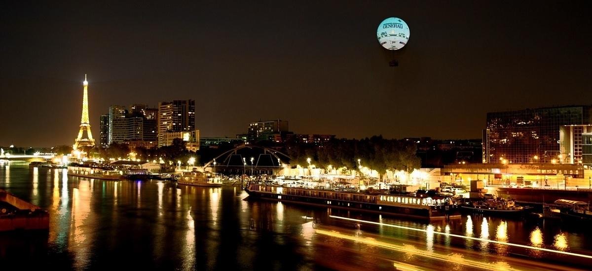Ballon de Paris - Vol de nuit - Eté - 15eme arrondissement
