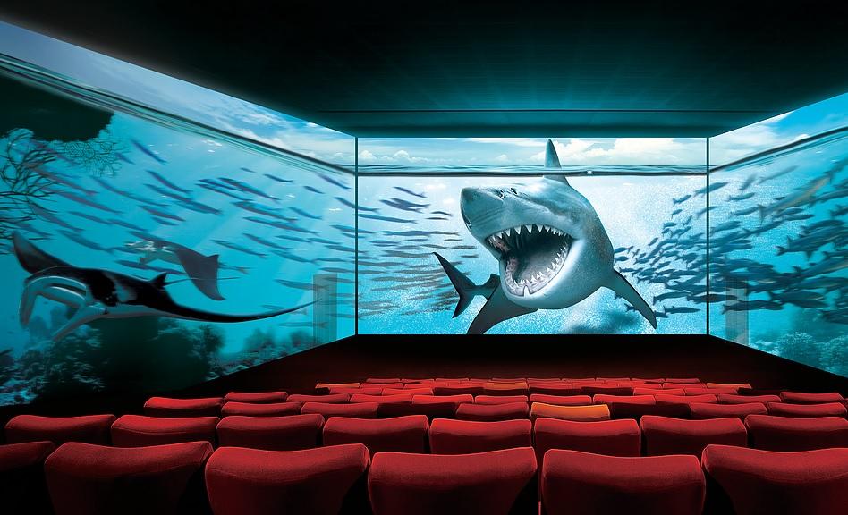 Cinéma Pathé Beaugrenelle - Technologie ScreenX - Paris 15 arrondissement