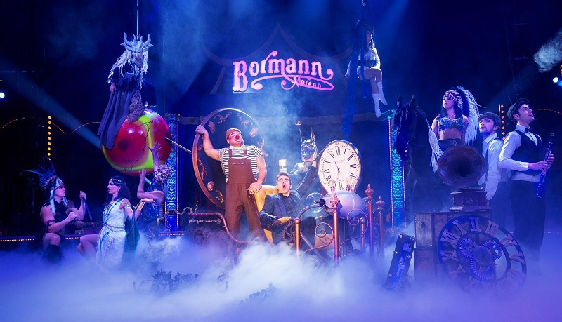 cirque bormann voyage dans le temps paris 15
