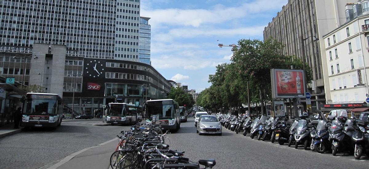 Projet urbain Maine-Montparnasse - gare bulevard de Vaugirard - Paris 15ème arrondissement