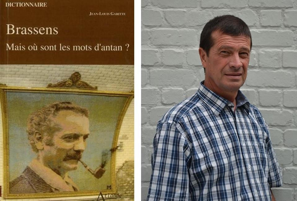 Brassens mais ou sont les mots d'antan - couverture - portrait jean-louis garitte - paris 15
