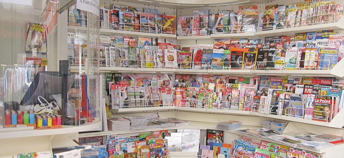 Nouveau kiosque presse - linéaire - 334 rue Vaugirard - Paris 15