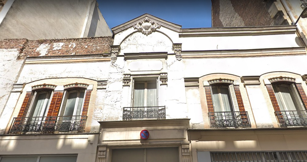 Facçade hangar 63-65 rue Letellier - Paris 15 (c) Google Map