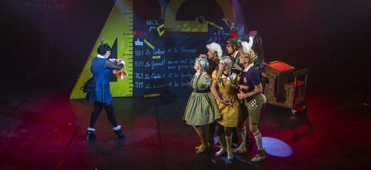 fable La Fontaine - cigale-fourmi - comedie musicale - paris - 15