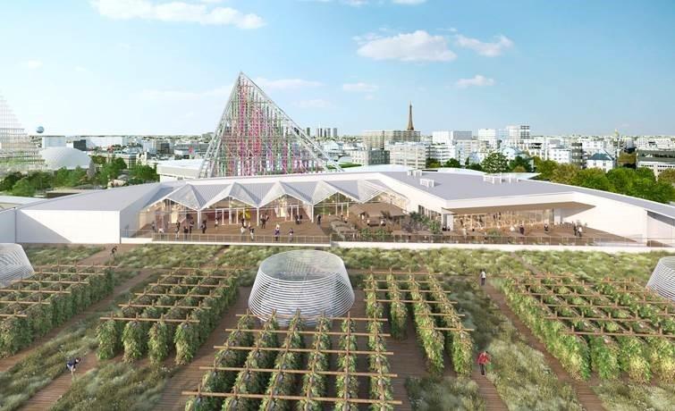 Ferme urbaine 3D - Pavillon 6 - Paris Expo Porte de Versailles (c) Valode pistre Architectes - Atlav - AJN - Paris 15
