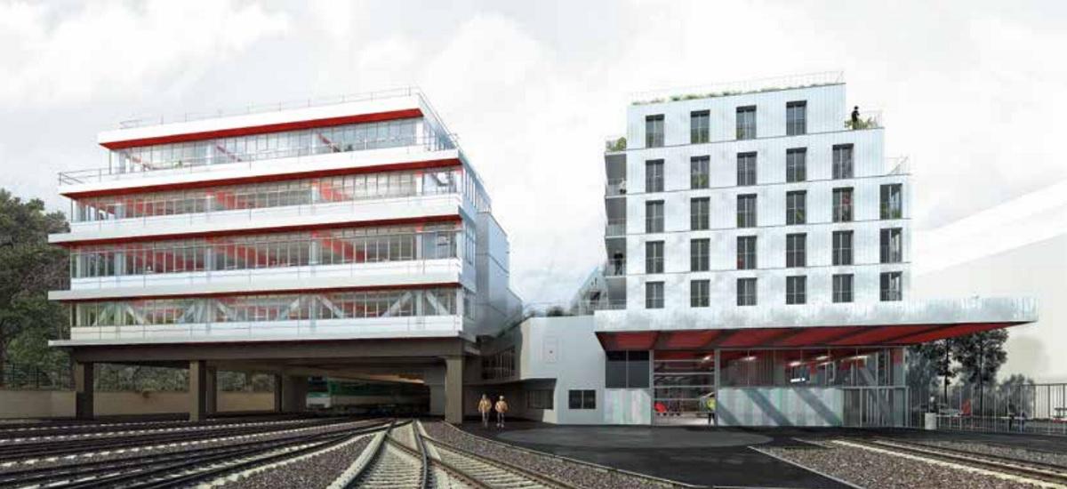 Ateliers Vaugirard RATP - atelier maintenance trains -