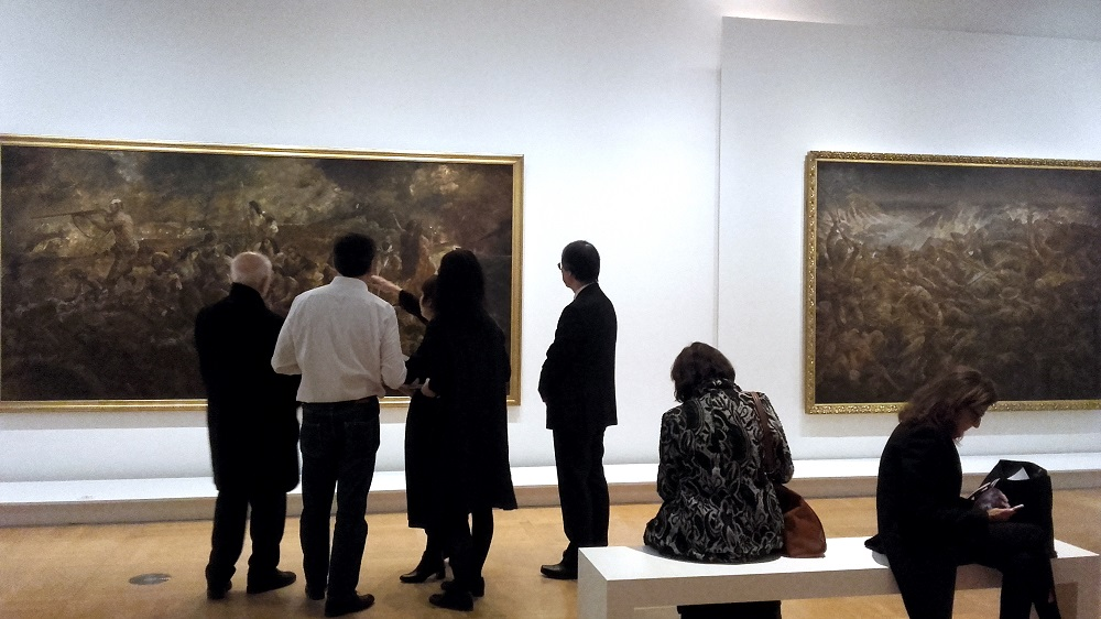 Foujita - guerre - exposition 2019 MCJP - Paris 15
